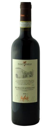 2016 Piancornello Brunello di Montalcino