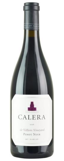 2016 Calera Pinot Noir de Villiers