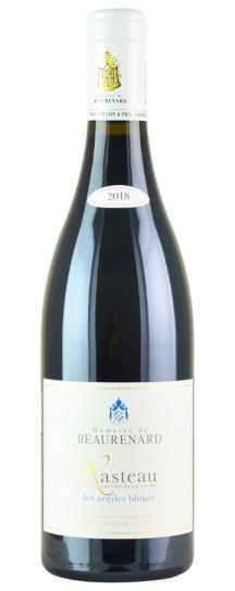 2018 Domaine de Beaurenard Cotes du Rhone Villages Rasteau les Argiles Bleu