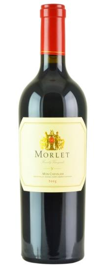 2015 Morlet Family Vineyards Cabernet Sauvignon Mon Chevalier