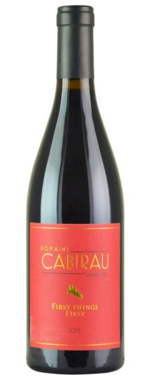 2015 Domaine Cabirau Serge & Nicolas First Things First