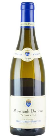 2016 Domaine Bitouzet Prieur Meursault les Perrieres