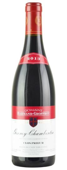 2013 Harmand-Geoffroy Gevrey Chambertin Clos Prieur