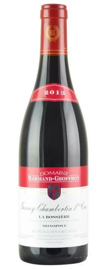 2013 Harmand-Geoffroy Gevrey-Chambertin 1er Cru La Bossiere Monopole