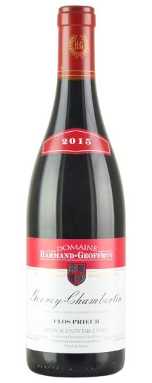 2015 Harmand-Geoffroy Gevrey Chambertin Clos Prieur