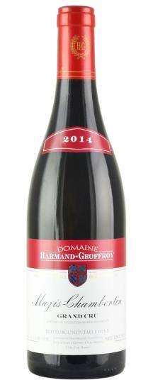 2014 Harmand-Geoffroy Mazis-Chambertin Grand Cru