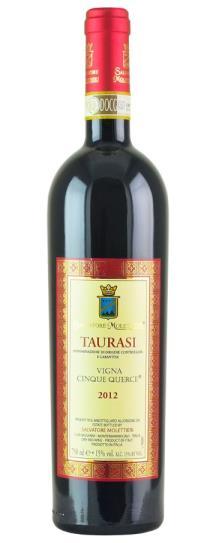 2012 Salvatore Molettieri Taurasi Vigna Cinque Querce