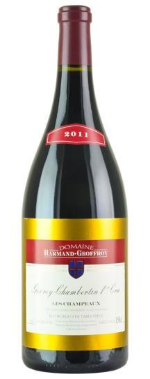 2011 Harmand-Geoffroy Gevrey Chambertin Champeaux
