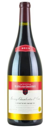 2013 Harmand-Geoffroy Gevrey-Chambertin 1er Cru Lavaux St Jacques