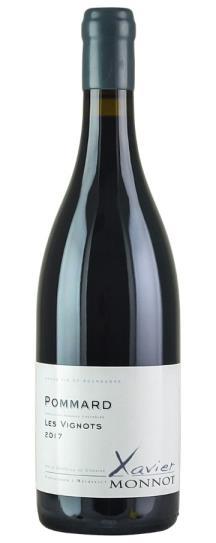 2017 Xavier Monnot Pommard Les Vignots