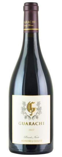2017 Guarachi Family Wines Sonoma Coast Pinot Noir