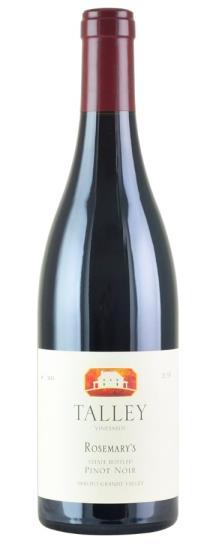 2018 Talley Vineyards Pinot Noir Rosemary's Vineyard
