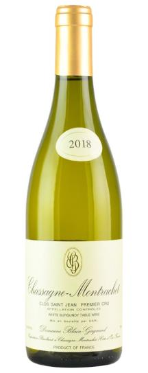 2018 Domaine Blain-Gagnard Chassagne Montrachet Clos St Jean