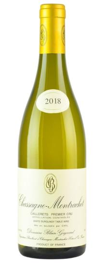 2018 Domaine Blain-Gagnard Chassagne Montrachet Caillerets