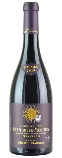 2018 Michel Magnien Chambolle Musigny les Sentiers