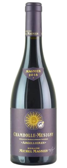 2018 Michel Magnien Chambolle Musigny Les Argillieres