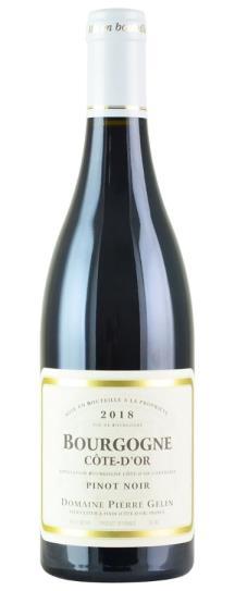 2018 Pierre Gelin Bourgogne Rouge