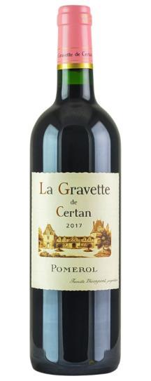 2017 La Gravette de Certan Bordeaux Blend