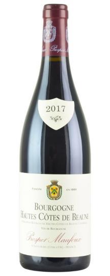 2017 Prosper Maufoux Bourgogne Hautes Cotes de Beaune Rouge