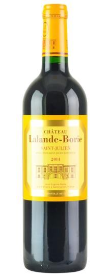 2014 Lalande Borie Bordeaux Blend