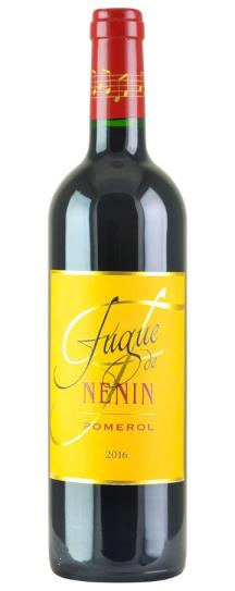 2016 Fugue de Nenin Bordeaux Blend