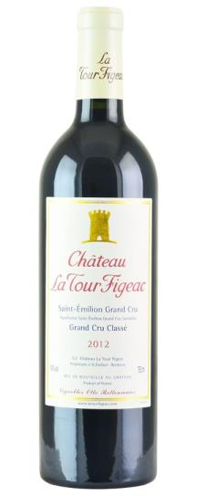 2012 La Tour Figeac Bordeaux Blend
