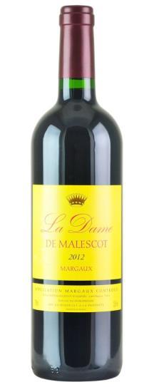 2012 Dame de Malescot Bordeaux Blend