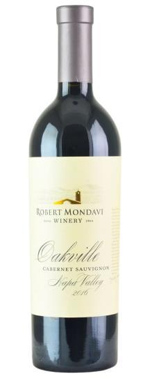 2016 Robert Mondavi Winery Cabernet Sauvignon Oakville