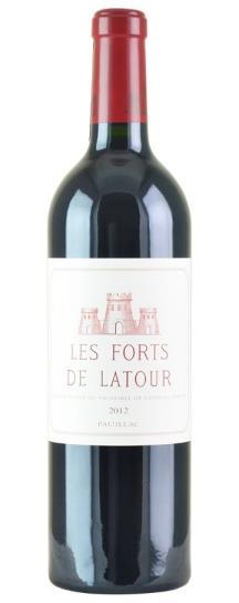 2012 Les Forts de Latour Bordeaux Blend