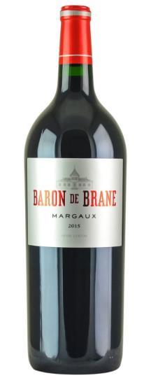 2015 Le Baron de Brane Bordeaux Blend