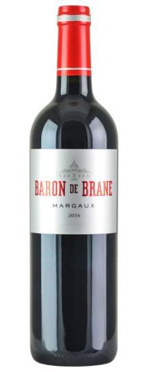 2016 Le Baron de Brane Bordeaux Blend