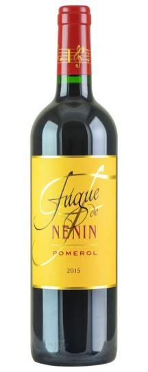2015 Fugue de Nenin Bordeaux Blend