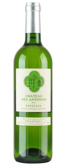 2019 Chateau des Antonins Antonins Blanc