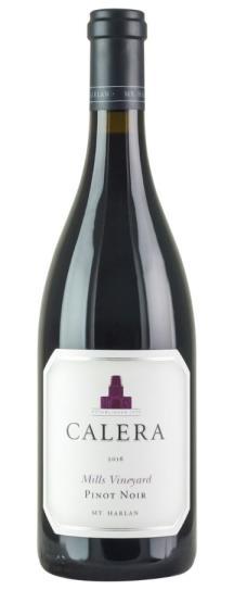 2016 Calera Pinot Noir Mills Vineyard
