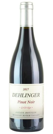 2017 Dehlinger Pinot Noir Goldridge Vineyard