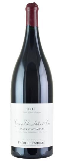 2018 Domaine Frederic Esmonin Gevrey Chambertin Lavaux St Jacques