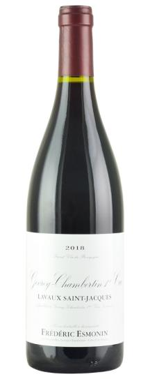 2018 Domaine Frederic Esmonin Gevrey Chambertin Lavaux St Jacques