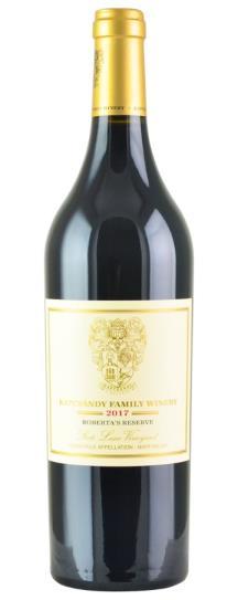 2017 Kapcsandy Family Winery Roberta's Reserve State Lane Vineyard