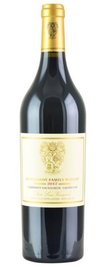 2017 Kapcsandy Family Winery Cabernet Sauvignon Grand Vin  State Lane Vineyard
