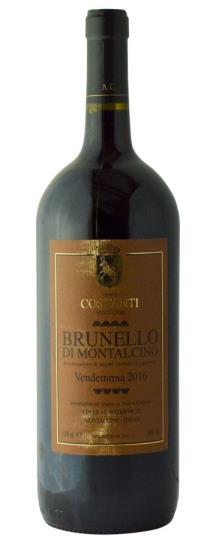 2016 Costanti Brunello di Montalcino
