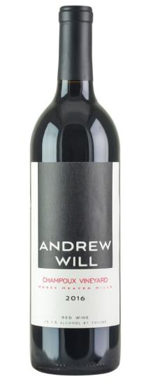 2016 Andrew Will Champoux Vineyard