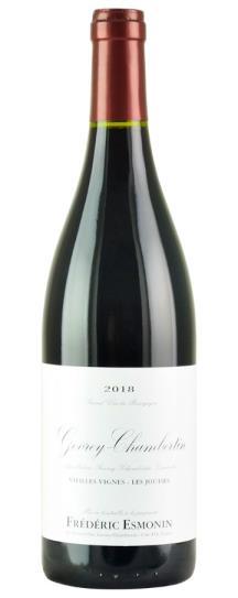 2018 Domaine Frederic Esmonin Gevrey Chambertin Les Jouises Vieilles Vignes