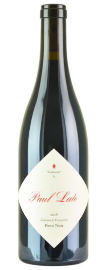 2018 Paul Lato Pinot Noir Seabiscuit Zotovich Vineyard