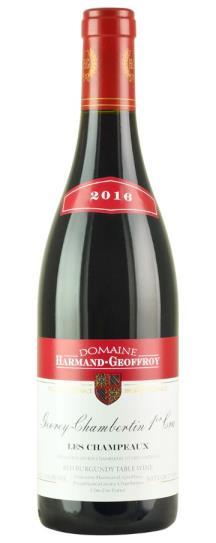 2016 Harmand-Geoffroy Gevrey Chambertin Champeaux