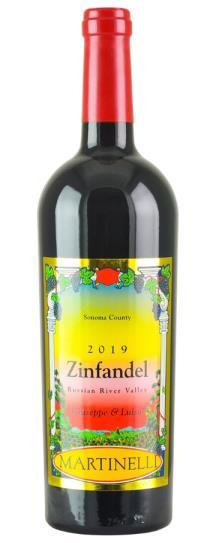 2019 Martinelli Zinfandel Giuseppe & Luisa