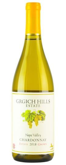 2018 Grgich Hills Chardonnay