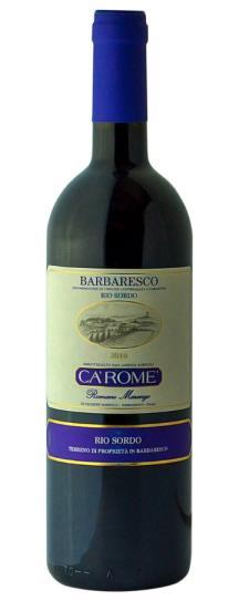 2016 Ca Rome Barbaresco Rio Sordo