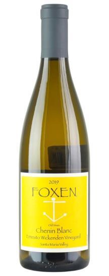 2019 Foxen Vineyard Old Vine Chenin Blanc Ernesto Wickendon Vineyard
