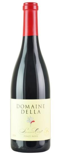 2018 Domaine Della Sonoma Coast Pinot Noir