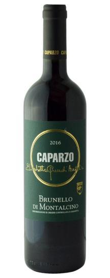 2016 Caparzo Brunello di Montalcino
